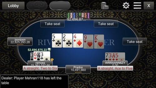 سایت شرط بندی river poker